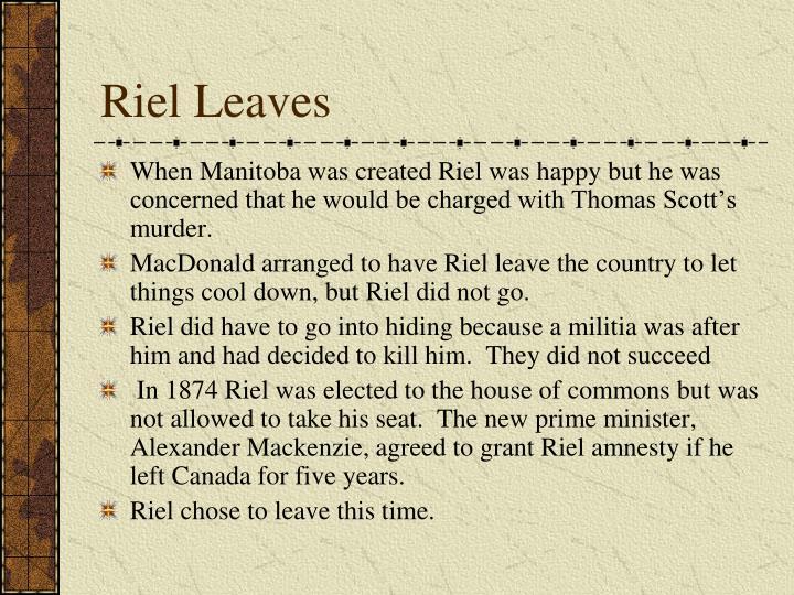 Riel Leaves