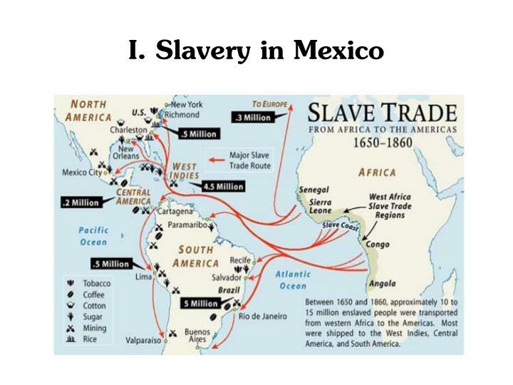 I. Slavery in Mexico