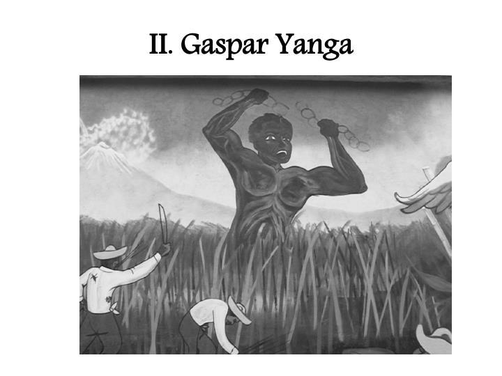 II. Gaspar