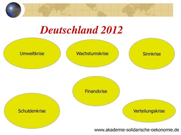 Deutschland 2012