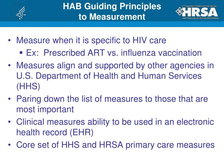 HAB Guiding Principles