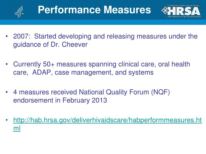 2007:  Started developing and releasing measures under the guidance of Dr. Cheever