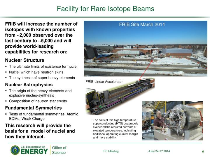 Facility for Rare Isotope Beams