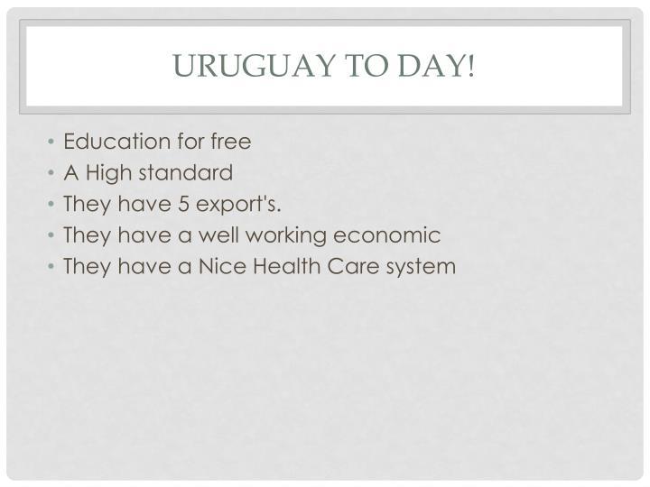 Uruguay to