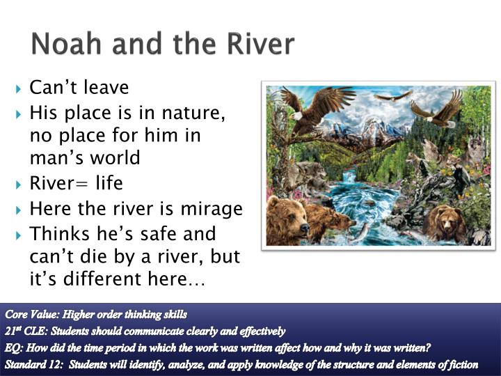 Noah and the River