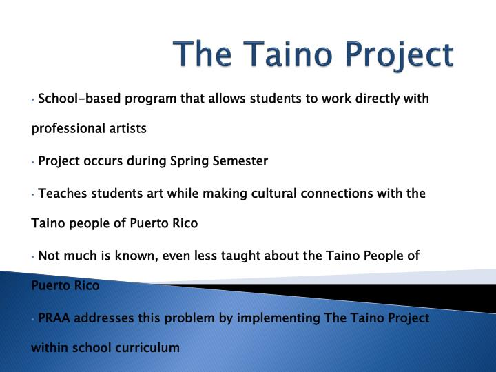 The Taino Project