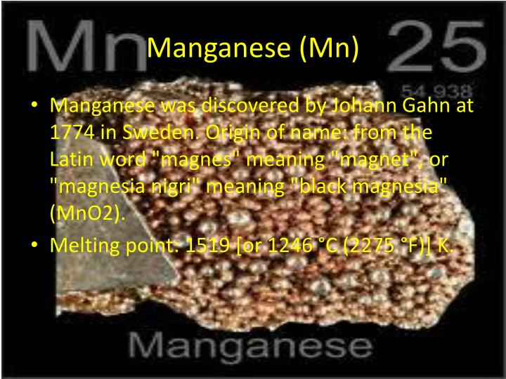 Manganese (