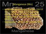 manganese mn