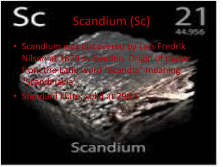 Scandium (