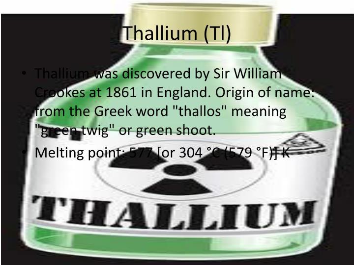 Thallium (