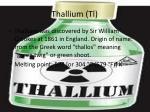 thallium tl