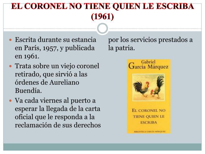 El coronel no tiene quien le escriba (1961)