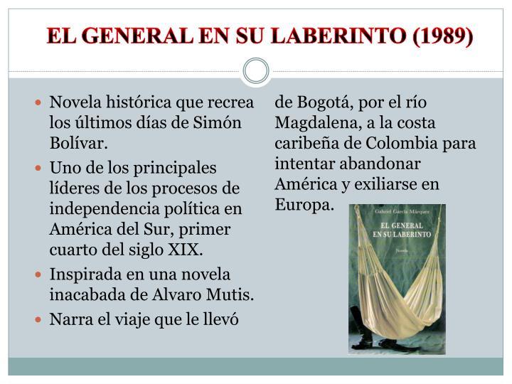 el General en su laberinto (1989)