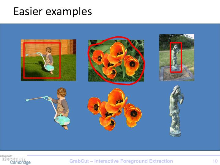 Easier examples