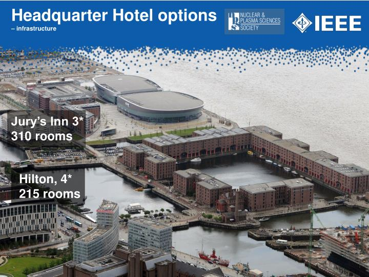 Headquarter Hotel options