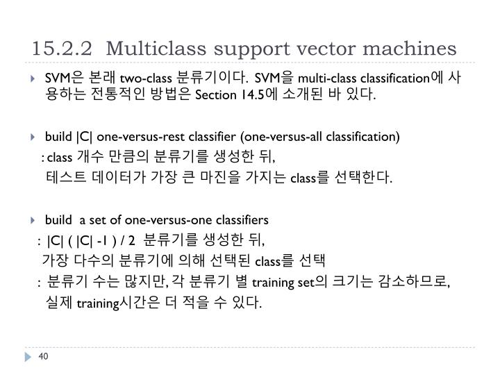 15.2.2  Multiclass support vector machines