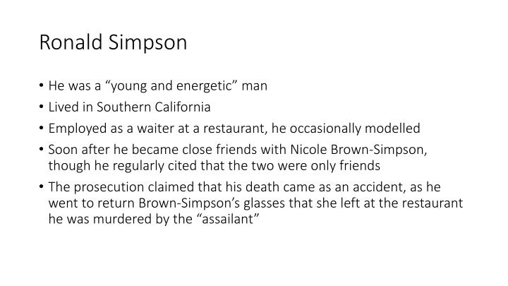 Ronald Simpson