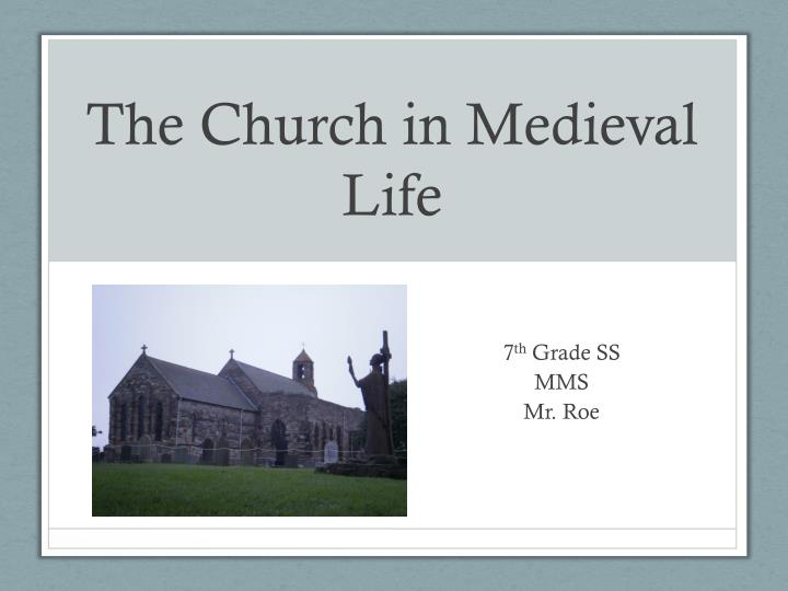 christianity in medieval europe essay