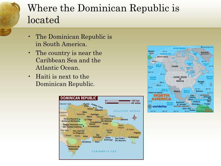 Where the dominican republic is located