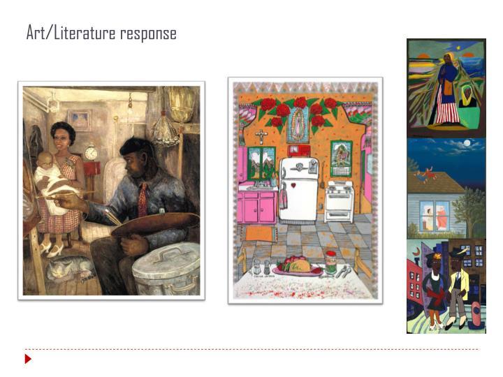 Art/Literature response