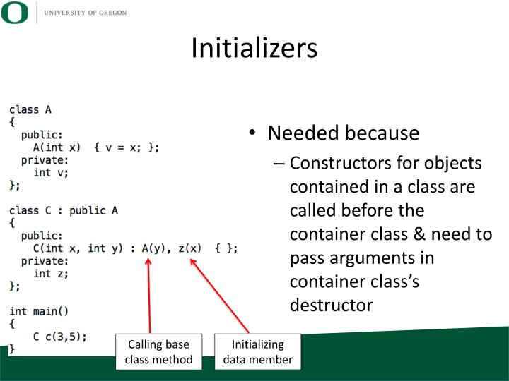 Initializers