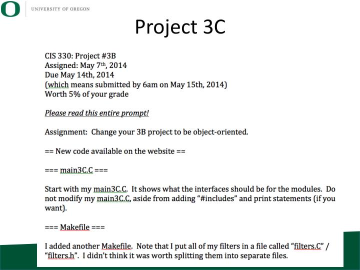 Project 3C