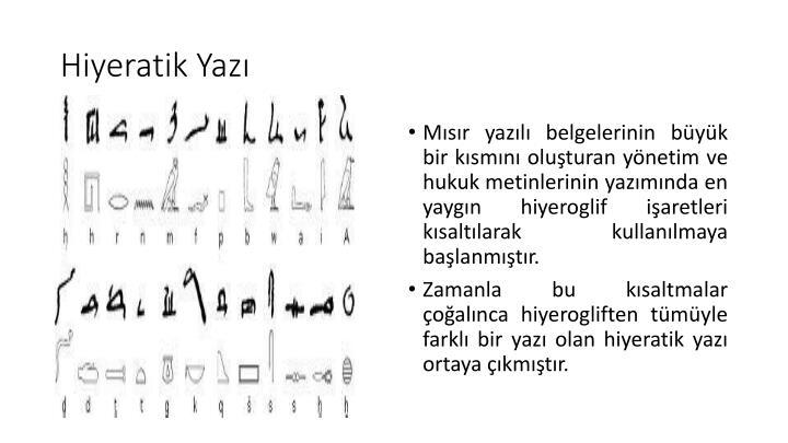 Hiyeratik