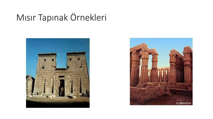 Mısır Tapınak Örnekleri