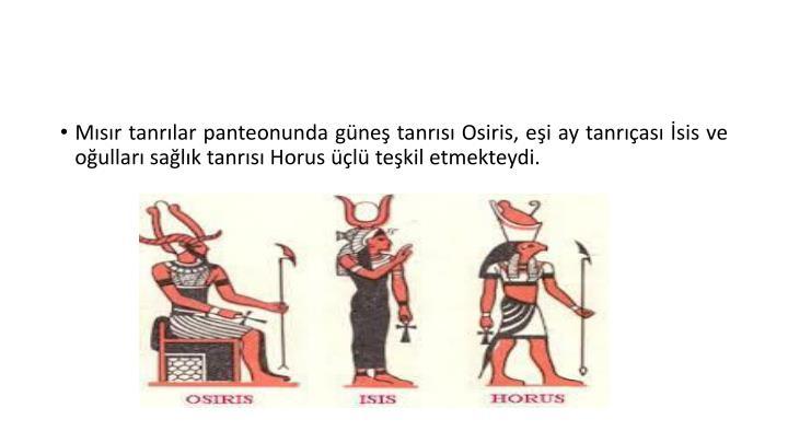 Mısır tanrılar panteonunda güneş tanrısı