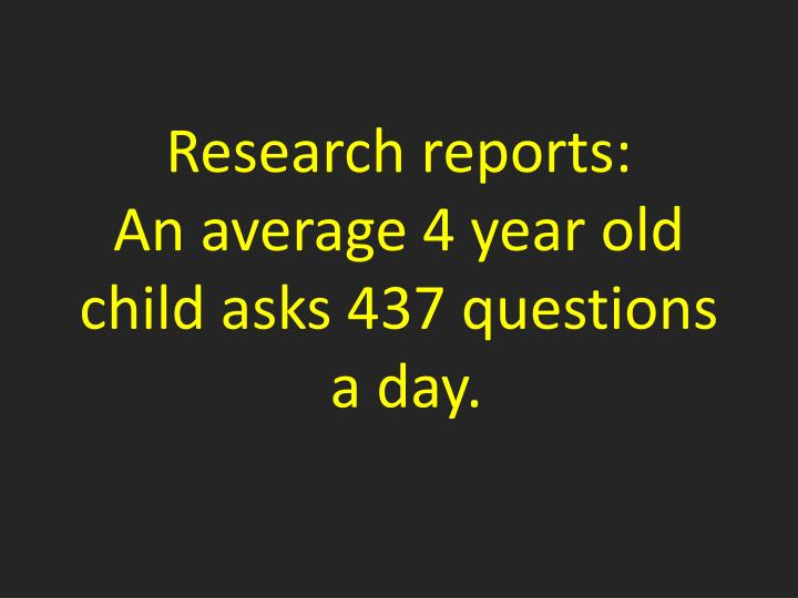 Research reports: