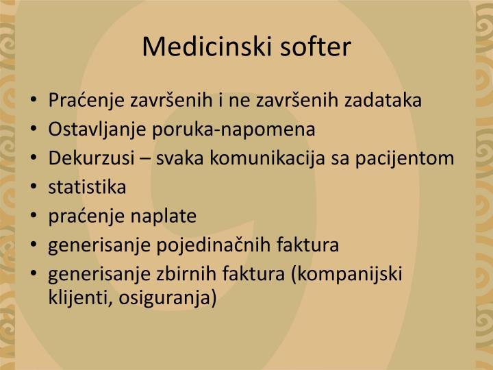 Medicinski softer