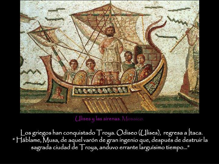 Ulises y las sirenas