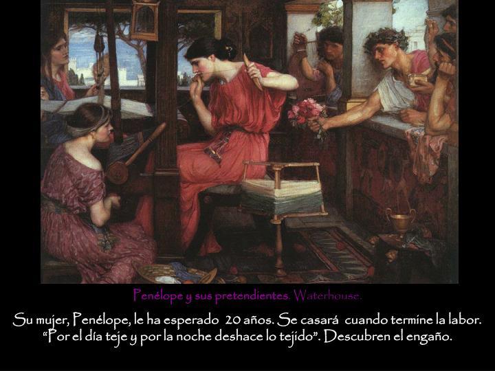 Penélope y sus pretendientes