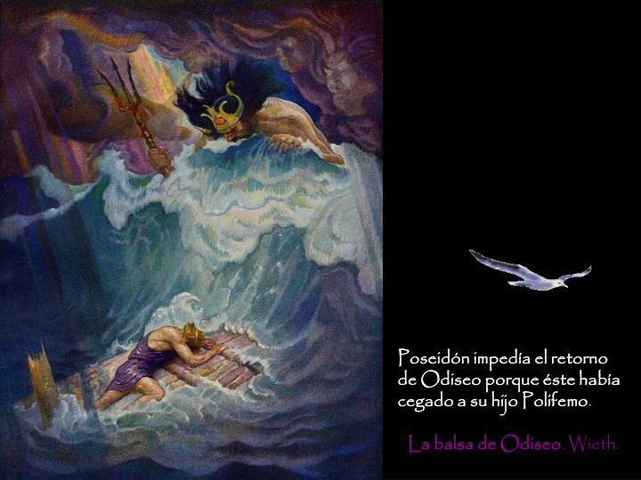 Poseidón impedía el retorno