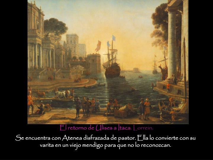 El retorno de Ulises a Ítaca