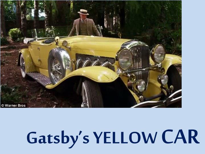Gatsby's YELLOW