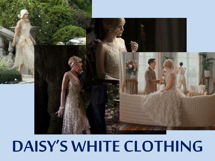 DAISY'S WHITE CLOTHING