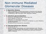 non immune mediated glomerular diseases1