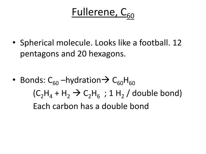 Fullerene, C