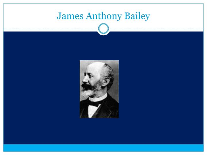 James Anthony Bailey