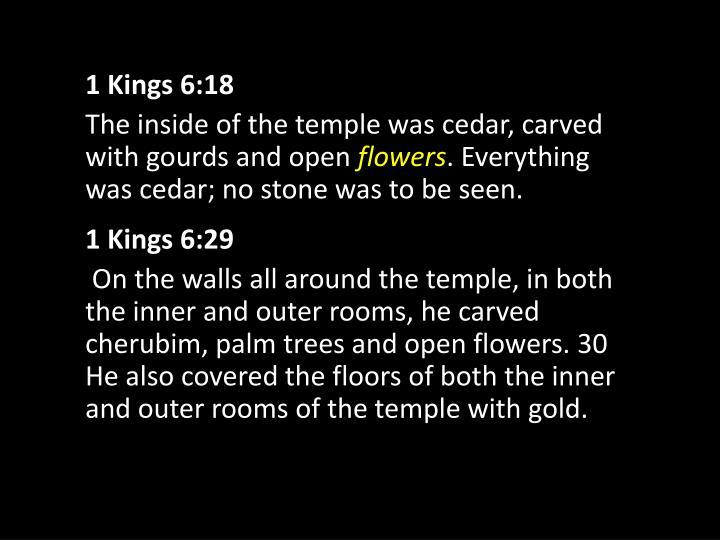 1 Kings 6:18