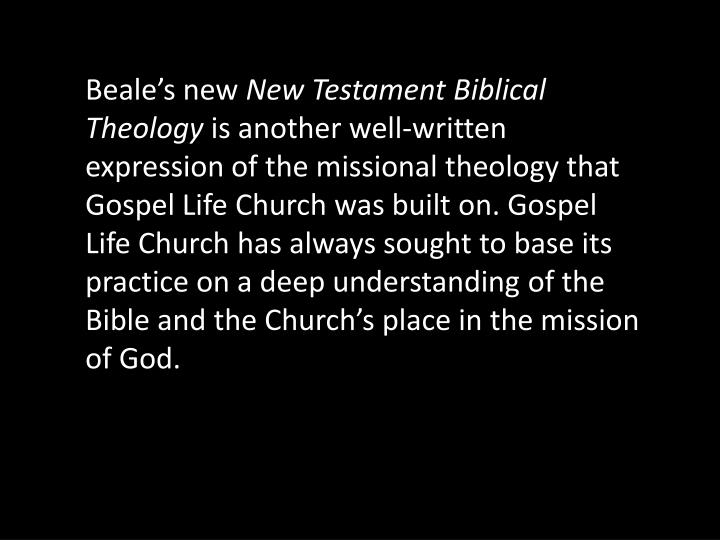 Beale's new