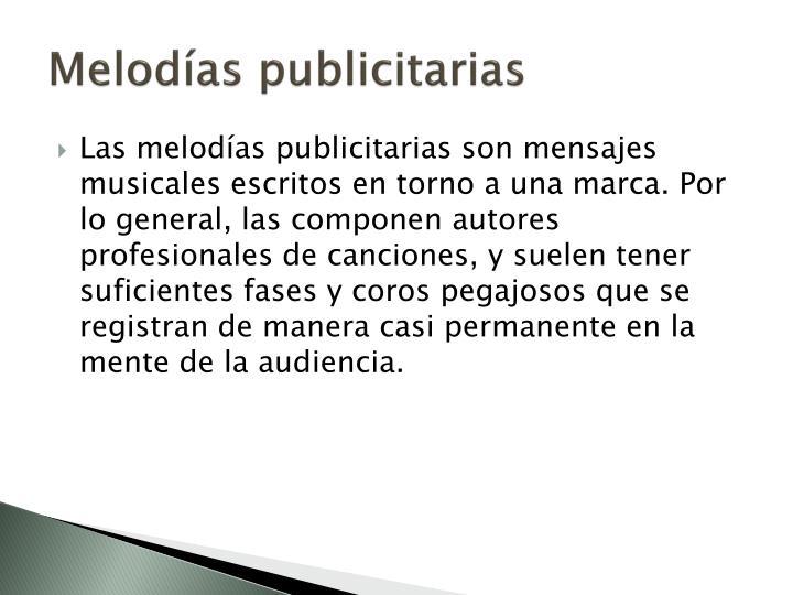 Melodías