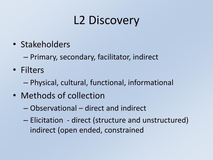 L2 Discovery
