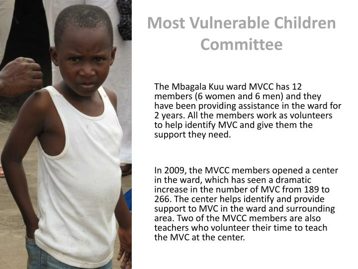 Most Vulnerable Children Committee