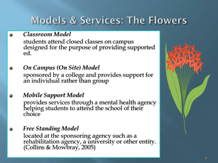 Models & Services: The Flowers