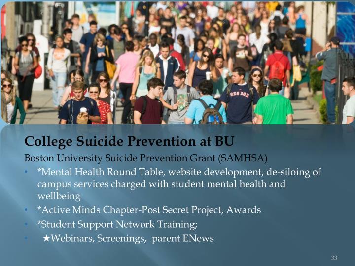 College Suicide