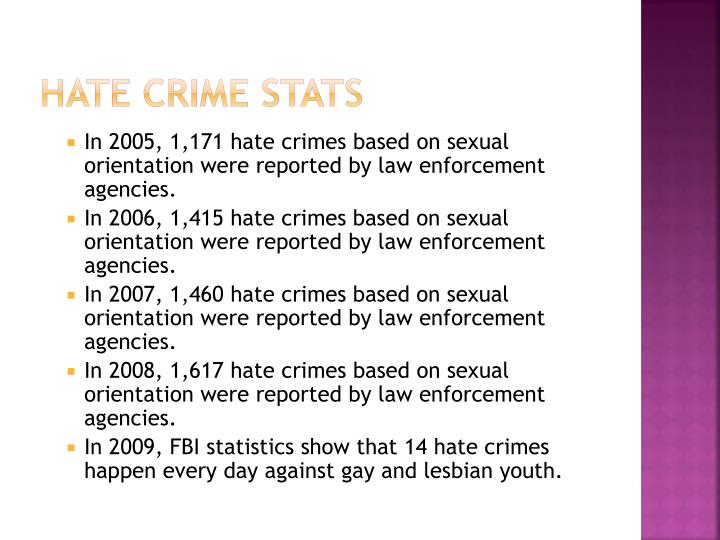 Hate Crime Stats