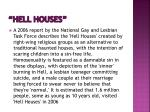 hell houses