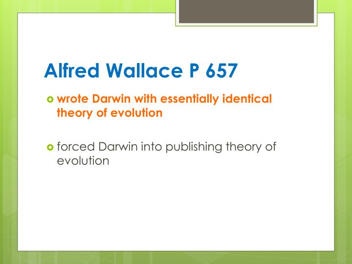 Alfred Wallace P 657